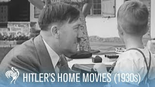 Hitler Dancing and Playing Found Footage 1930s  Wa