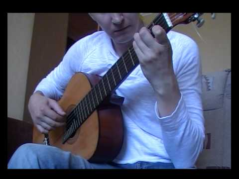 The Swan by Camille Saint-Saens - Solo Guitar Cover