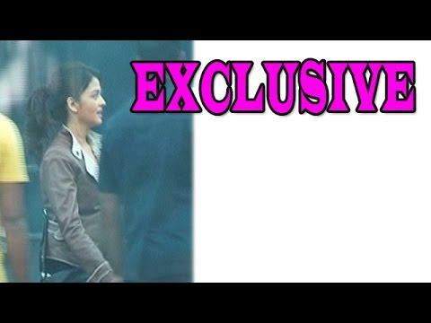 Aishwarya Rai Bachchan spotted on sets of Movie 'Jazbaa' - EXCLUSIVE