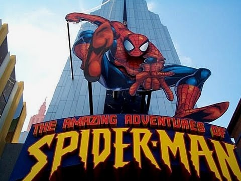 The Amazing Adventures of Spider Man POV Islands of Adventure HD Universal Studios Orlando Florida