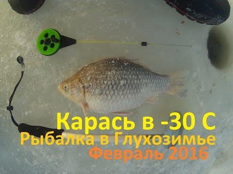 рыбалка как ловить карася в марту