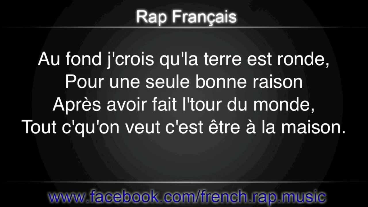 Orelsan-La Terre Est Ronde (Paroles) HD 2011 (Lyrics