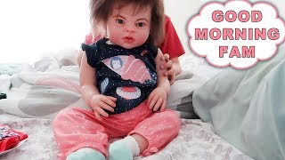 Reborn Toddler Morning Routine Final Episode of Toddlers First Day Home