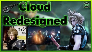 Final Fantasy VII Remake News - Cloud Redesigned July 2018