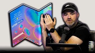 The Samsung Galaxy Z-Fold