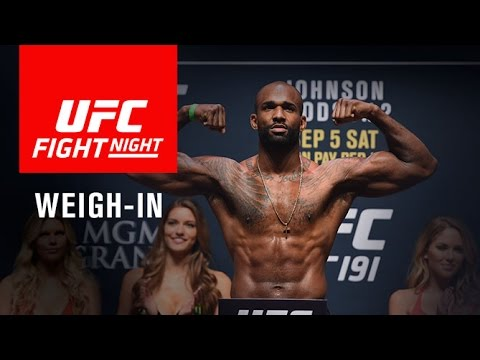 UFC Fight Night London: Official Weigh-in