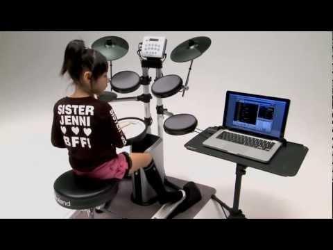 V-Drums Lite HD-3/DT-1 V-Drums Tutor Overview