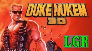 LGR - Duke Nukem 3D - DOS PC Game Review