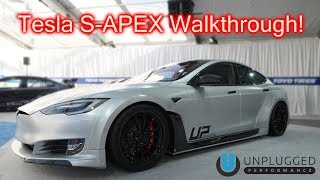 Introducing The Tesla S-APEX @ SEMA.... Do I Buy One?!