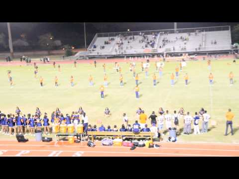 Stranahan High school Marching Band 2014-2015 (1st game)