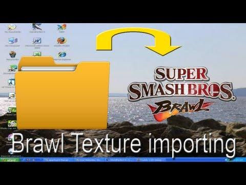 How to use Brawl texture hacks