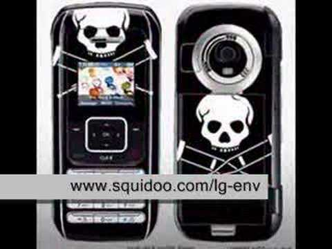 Hot Cell Phone : LG enV COOL Faceplates Video