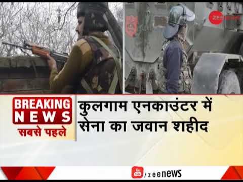 Breaking News: 3 terrorists gunned down in J&K's Pulwama