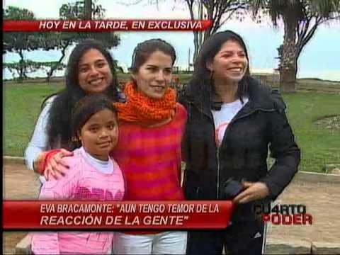 Cuarto Poder: Eva Bracamonte pasea por las calles tras cuatro años de encierro