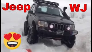Grand Cherokee WJ - Snow Crawling