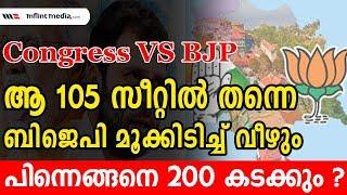 നേര്ക്കു നേര് പോരാട്ടത്തില് ഇക്കുറി ബിജെപി വിയര്ക്കും | BJP Vs Congress