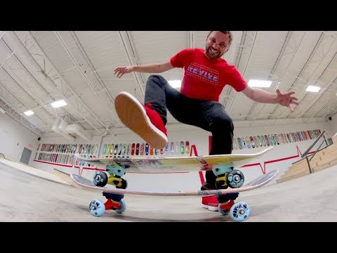 Can You Stomp Two Skateboards At Once!?