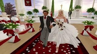 Ewan & Bookie Second Life Wedding - 9.30.17
