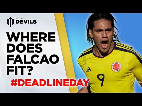 Where Does Falcao Fit? | Predict The Team | Manchester United