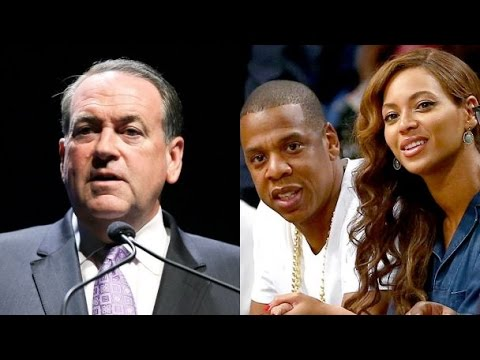 Mike Huckabee Kicks Off Republican Primary: 'Jay-Z is Pimping Out Beyonce'
