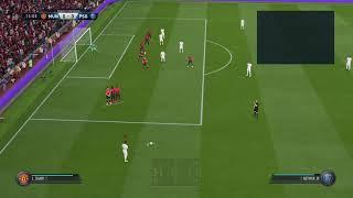 Golaço de chute calibrado FIFA 19 !!