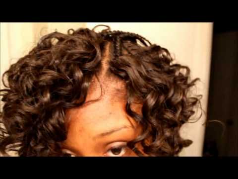 Curly Invisible part (no glue) tutorial!!