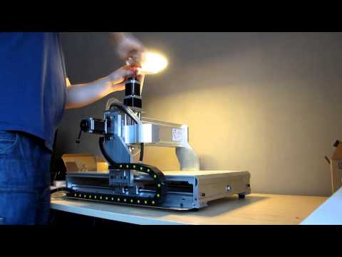 CNC 6040 unboxing & assembly