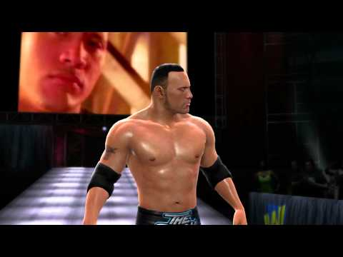 Attitude Era Rock makes his entrance in WWE 13 (Official)