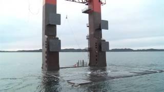 Customer Sea Trial - HiLoad DP - Deballasting Operation January 25th