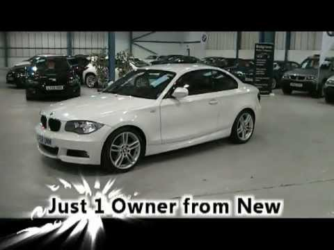 Bmw 125i m Sport White Bmw 125i m Sport Coupe in