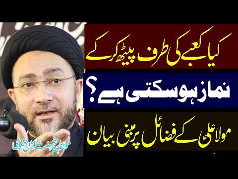Kaya Hazrat Abu Bakr Ky Peechy Maula Ali (a.s) Ny Namaz Parhi !! | Allama Shahenshah Hussain | 4K