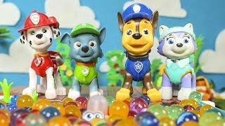 PAW PATROL Toys Episodes ❤️ Paw Patrol have fun in the ball pool