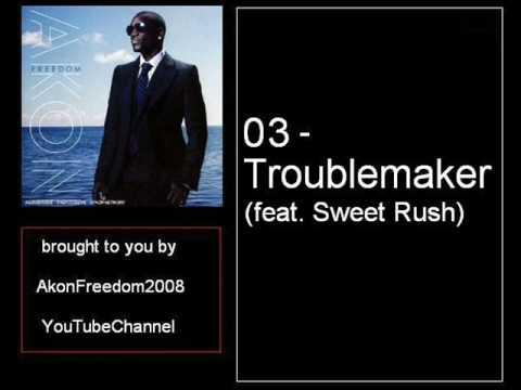 Akon  03  Troublemaker feat Sweet Rush