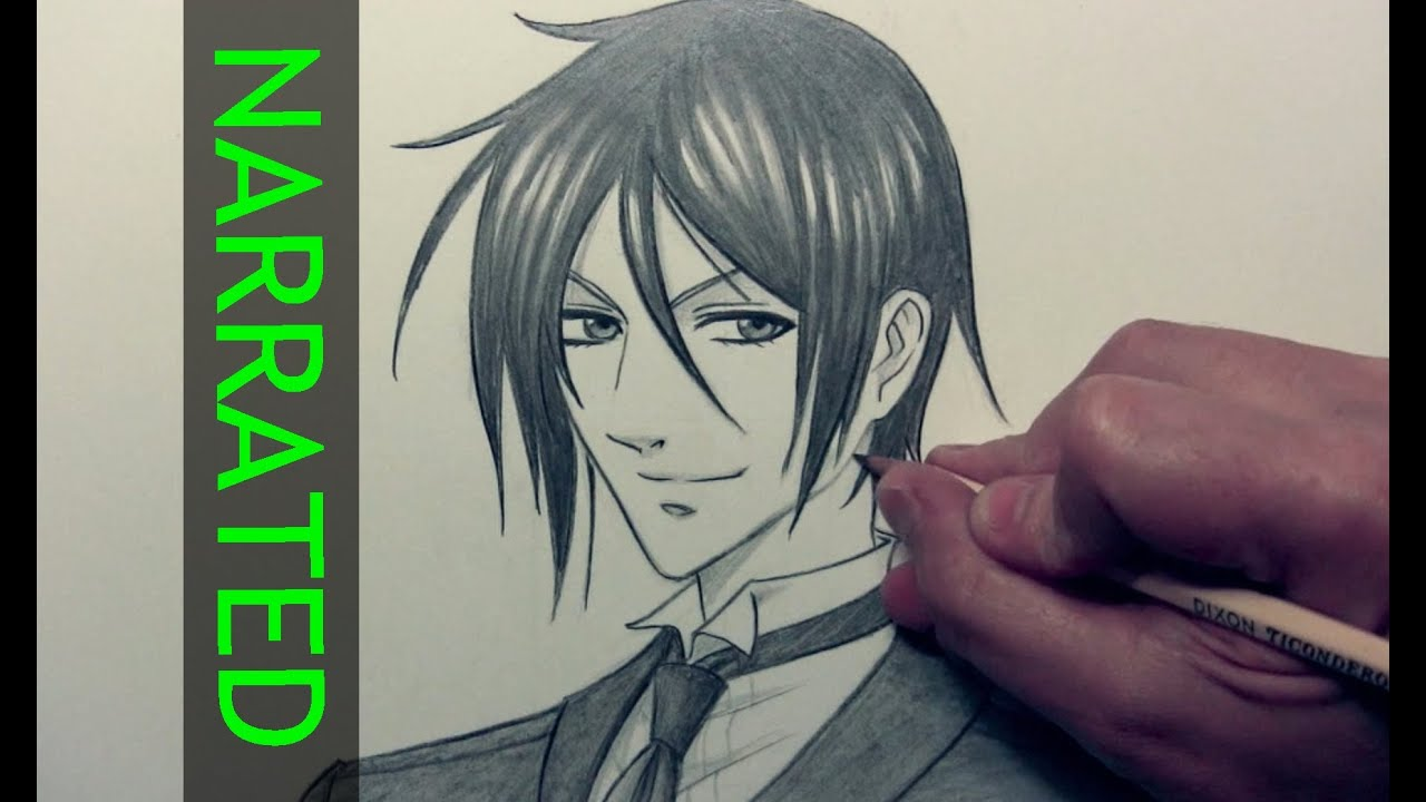 Black Butler Drawings How to Draw Sebastian From
