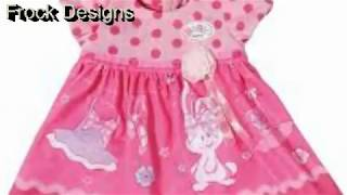 Frock Design-Latest Baby Frock-Patterns-Baby Girl Dress Design