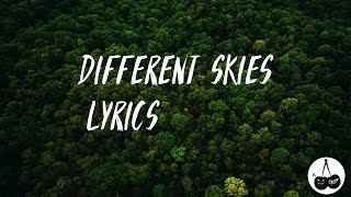 Shoffy - Different Skies (Lyrics)