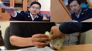 Nườm nượp cảnh kẹp tiền, đưa - nhận tại Hải quan Hải Phòng