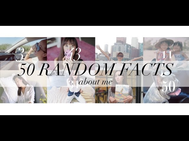50 Random Facts About Me | Chriselle Lim