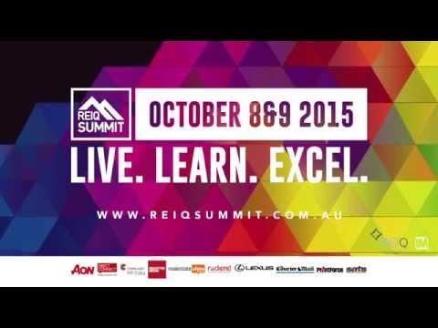 REIQ Summit 2015 - Real Estate Institute of Queensland