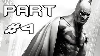 BATMAN Arkham City Gameplay Walkthrough - Part 4 - Baseball Bat to the Face (Let's Play)