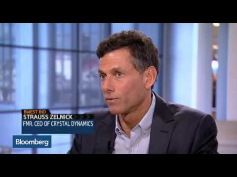 Bloomberg: Strauss Zelnick Talks Evolve, Sex and Violence In Video Games