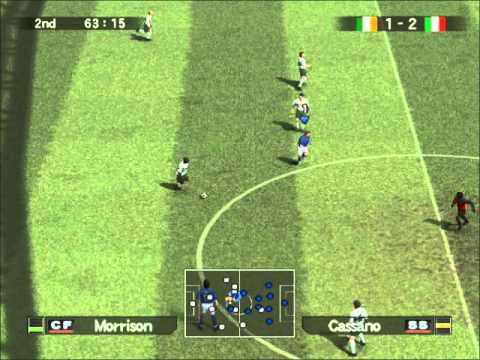 PES 5 Italy reserves VERSUS Ireland