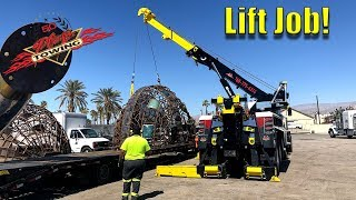 Rotator Lifting 2 Large Domes