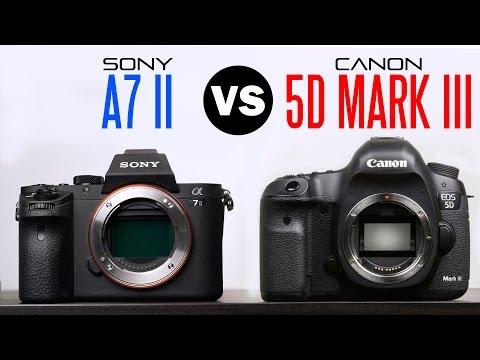 sony a7 ii vs canon 5d mark iii comparison ibowbow