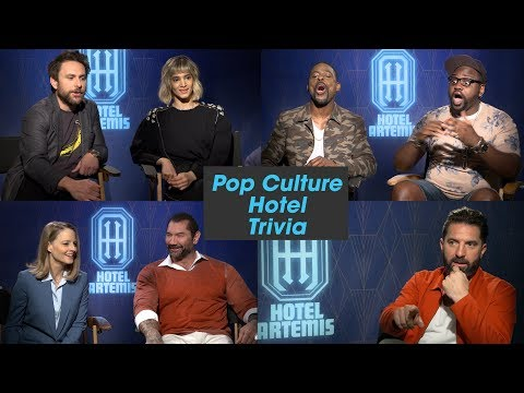 """'Hotel Artemis' Cast Plays """"Pop Culture Hotel Trivia"""""""