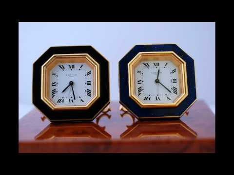Buying Pre-Owned Luxury Goods - You Get What You Pay For - Mechanical Cartier Desk Clock