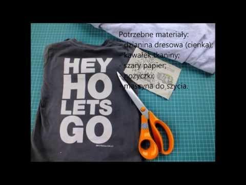 Jak Uszyć T-shirt DIY