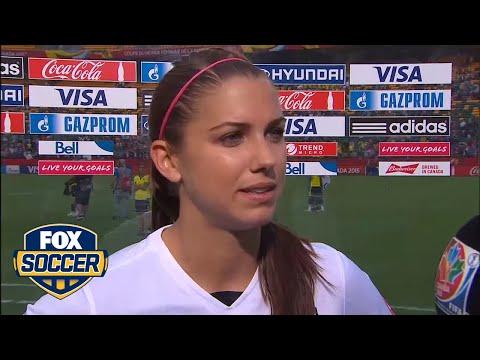 Alex Morgan's goal helps USWNT advance- FIFA Women's World Cup 2015