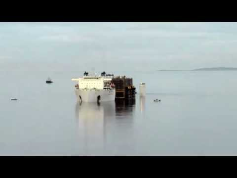 Solan Tank offloading at Lerwick Harbour