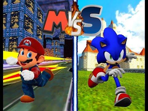 Mario Vs Sonic: MB/SR - Extended Edition